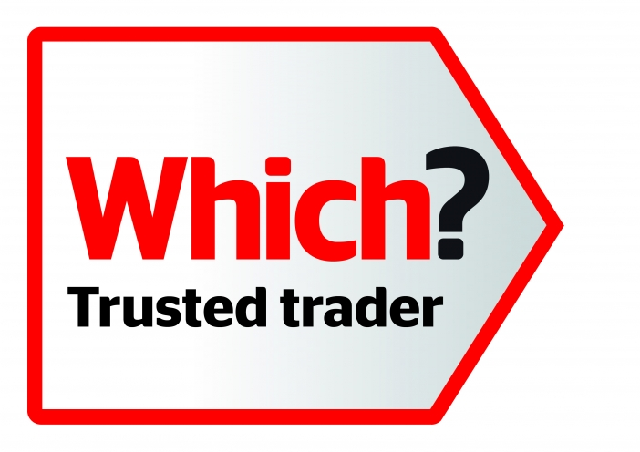 Which! Trusted Trader logo