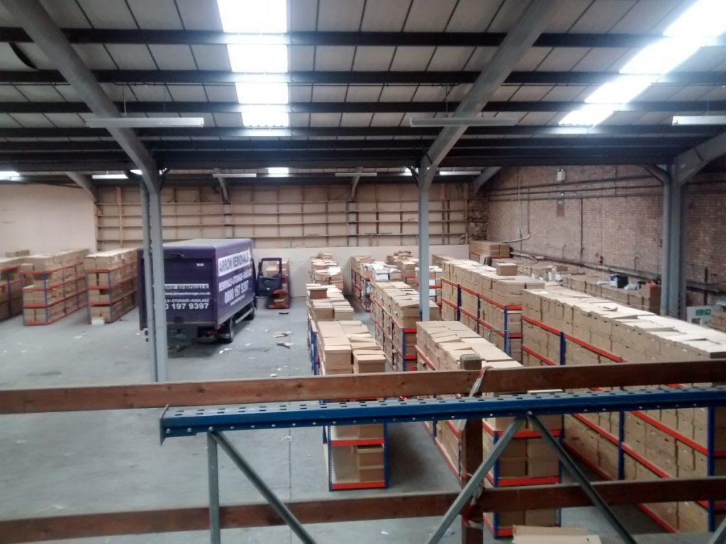 Proddow and Mackay solicitors chose Arrow to help move their archives to a new warehouse where they were then reordered by us.