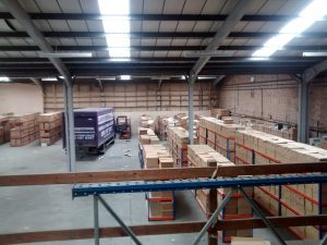 Proddow and Mackay solicitors chose Arrow to help move their archives to a new warehouse where they were then reordered by us. Arrow Removals & Storage - Sheffield Removal companies (customer testimonial)