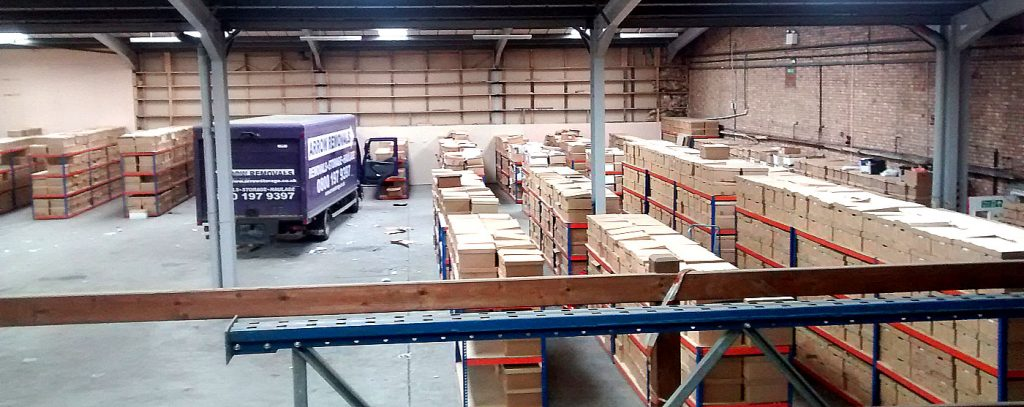 Arrow Storage & removals in Sheffield