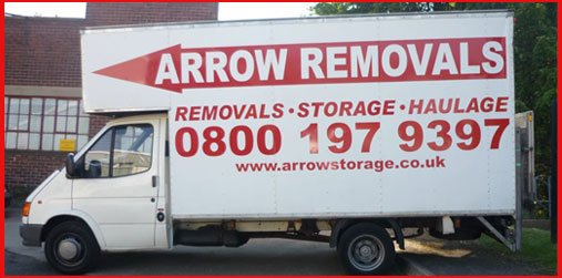 Long Wheel Base Transit Box Van for Removals and Storage
