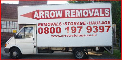Long Wheel Base Transit Box Van for Removals and Storage